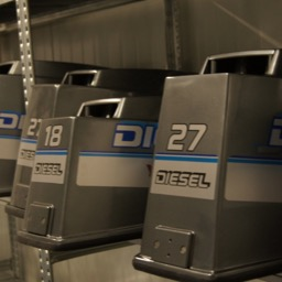 Yanmar D18, D27, D36 and D40 diesel outboard engines